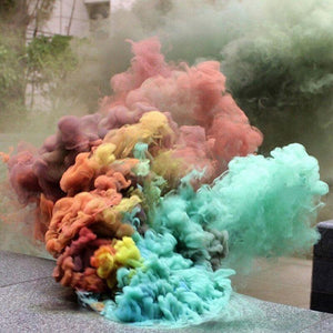 Colorful Smoke - Haim Place