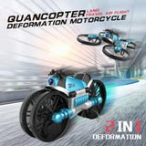 Transforming Motorcycle RC Drone - Haim Place