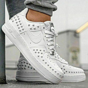 "Nike Air Force 1 '07 XX ""STARS PACK' White AR0639-100 - Haim Place"