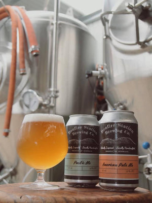 Load image into Gallery viewer, Bonfire Station Brewing Co. Pacific Ale