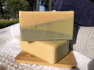 Handmade Peppermint & Herb Goat Milk Soap