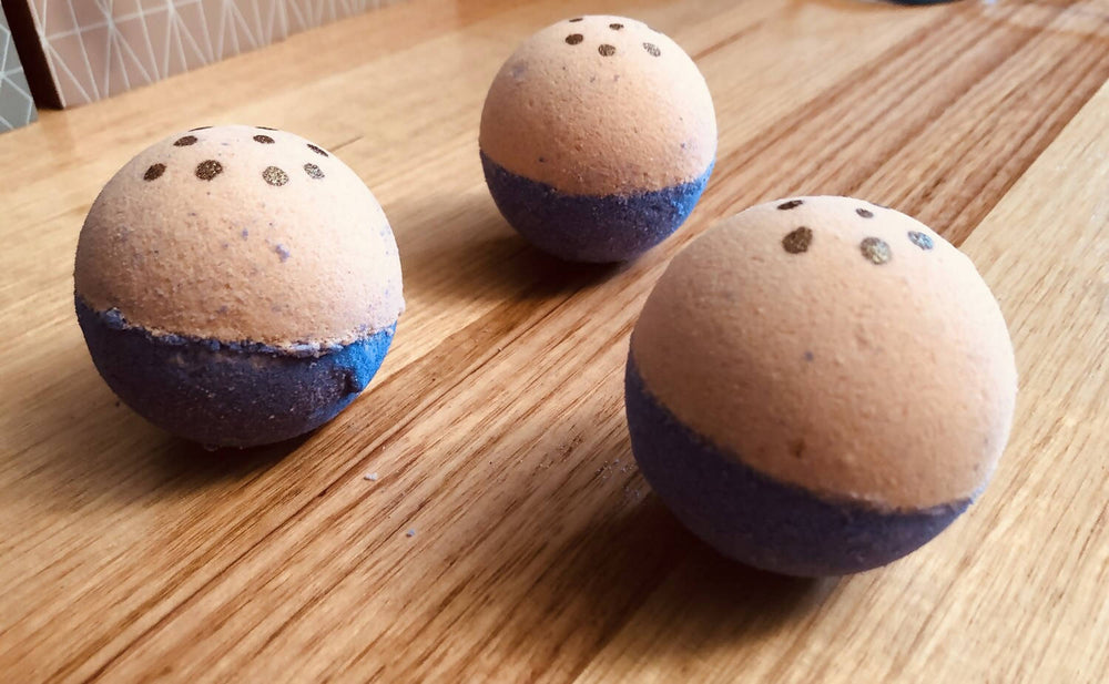Load image into Gallery viewer, Handmade Passionfruit Goat Milk Bath Bomb