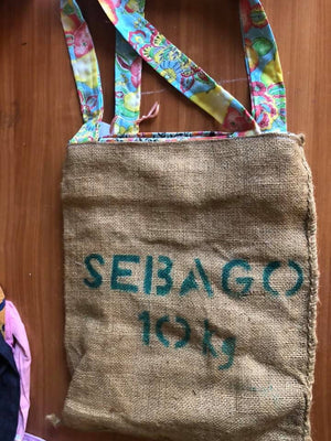 Pack of 5 Handmade Potato sack Bags