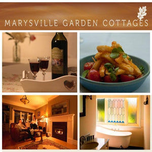 Marysville Stay, Wine & Dine Package $590. (valued up to $650)