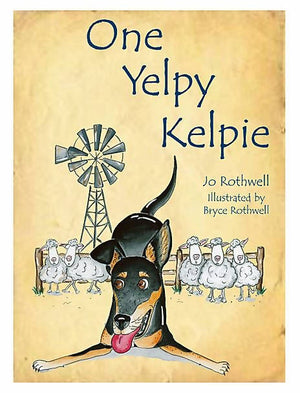 Load image into Gallery viewer, One Yelpy Kelpie