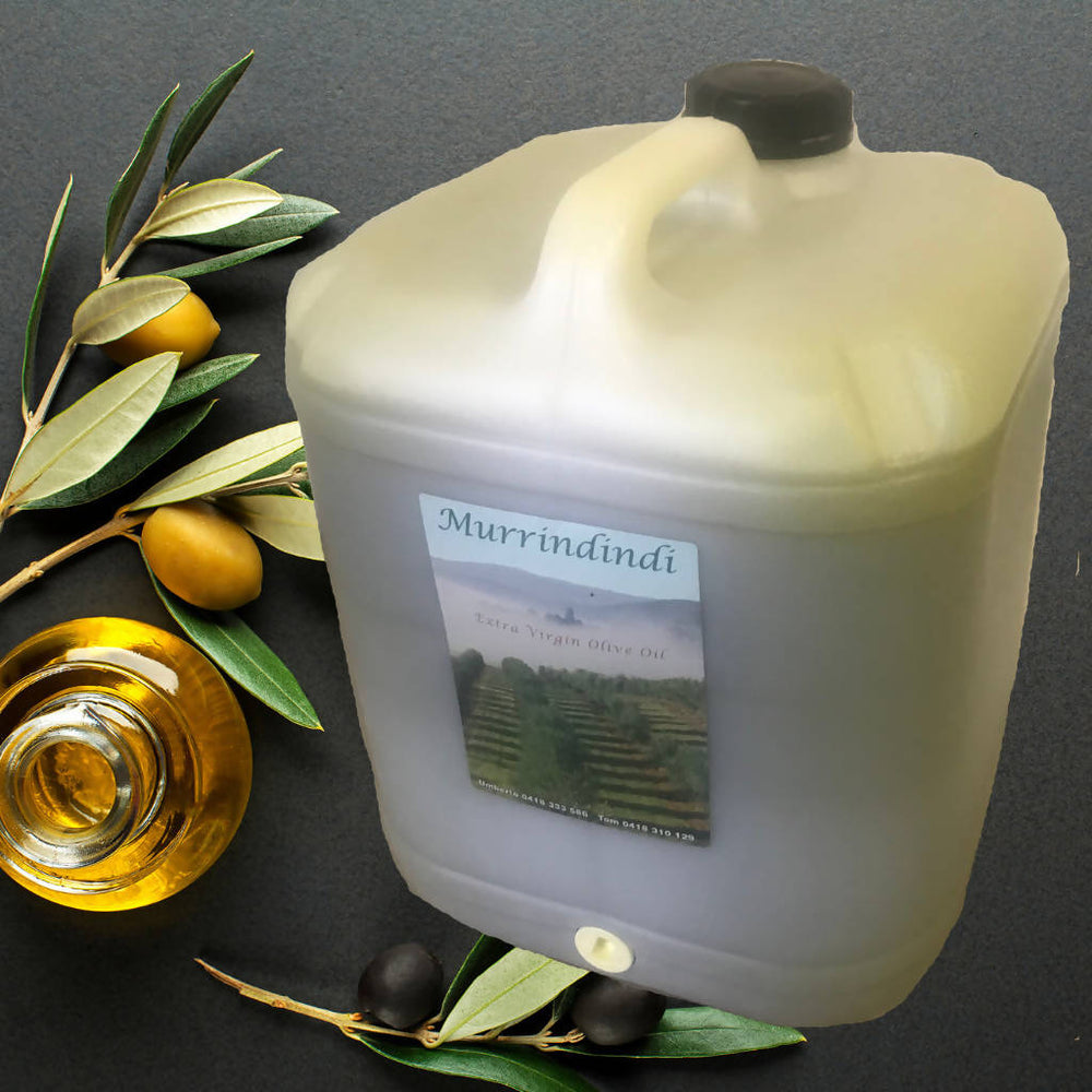Murrindindi Olive Oil 20 litres (postage included)