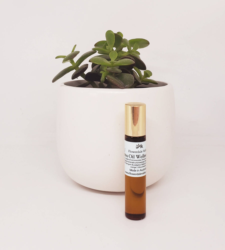 Thieves oil wellness roller