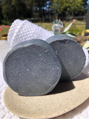 Handmade Charcoal Goat Milk Soap