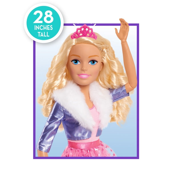 Barbie 70cm Princess Adventures Blonde