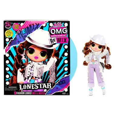 L.O.L. Surprise! O.M.G. Remix Lonestar Fashion Doll