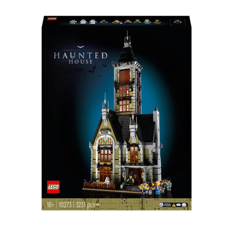 LEGO 10273 Creator Expert Haunted House Set for Adults