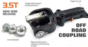 Articulating Off Road Coupler