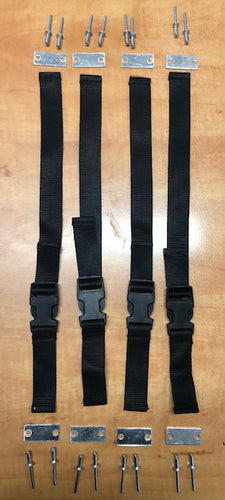 Replacement Hold Dow Straps with Buckles