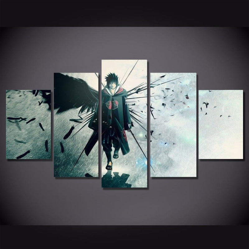 5 Piece Wall Canvas Naruto Art Wall Pictures Poster Prints Anime Canvas Painting