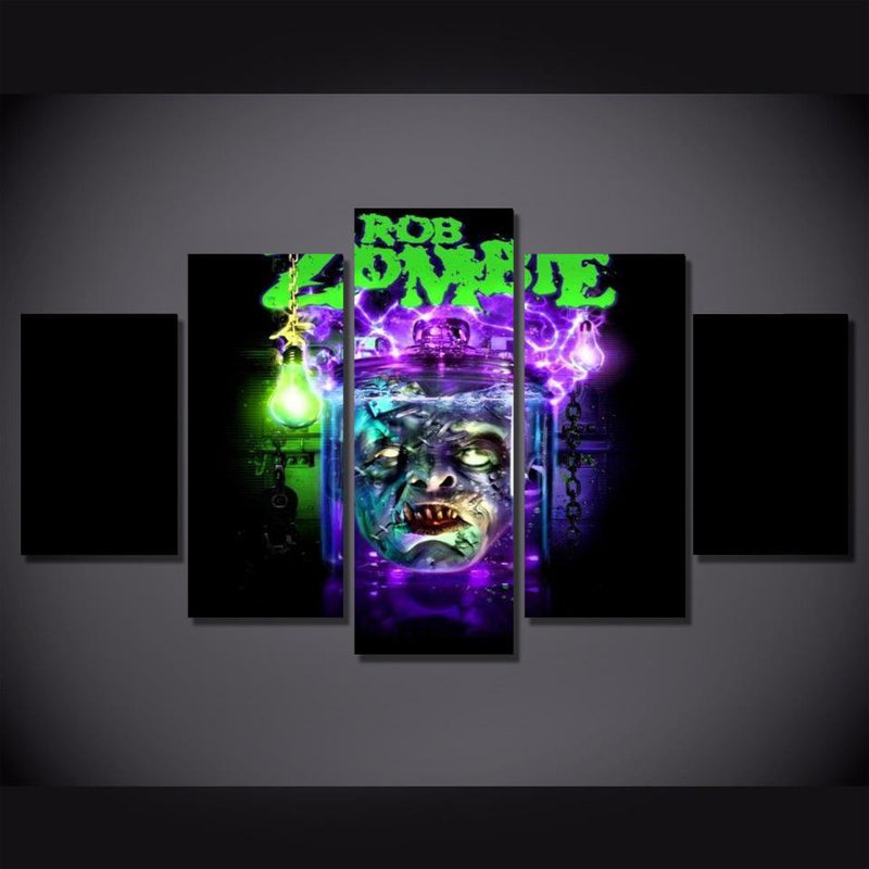 5Piece Zombie Wall Art Game Poster Picture Prints