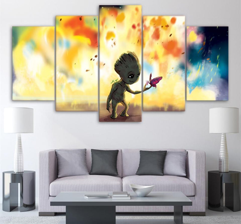 5Piece Wall Art Canvas On The Walls Canvas Art Print Painting