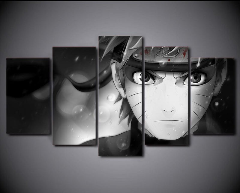 5Piece Wall Picture Japanese Comic Painting Naruto Ninja Canvas Posters