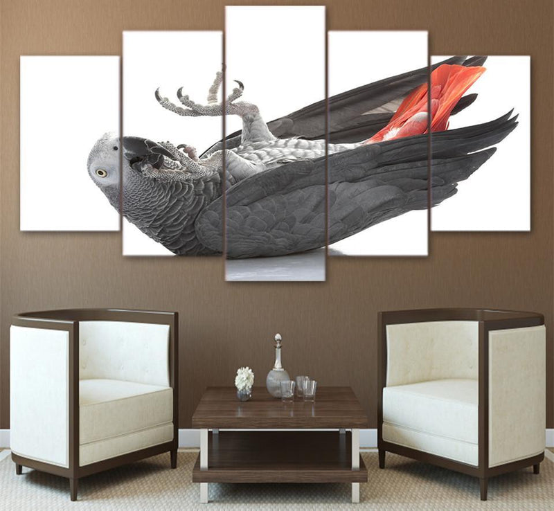 5 piece HD print Bird claw paw posters and prints canvas art