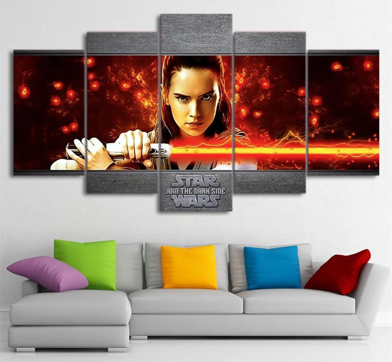 5 Panel Canvas Art Movie Paintings Print And Posters