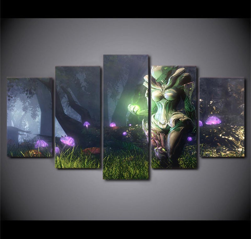 5Piece Canvas ArtModular Posters And Printed Canvas Fantasy Game Pictures