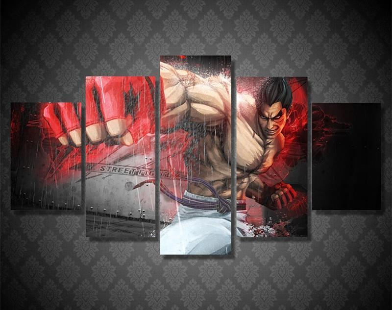 Wall Art Canvas Painting Game Characters HD Painting