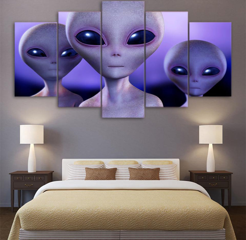 5Piece Canvas ET Poster Hd Print Wall Art Picture For Room