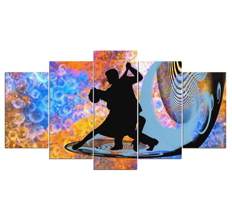 5Piece Wall Art Fantastic Tango Dance Posters Prints Abstract Wall Decor