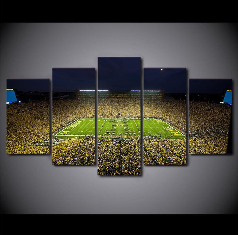5Piece Canvas Art Football Playground World Cup Wall Art Canvas Paintings