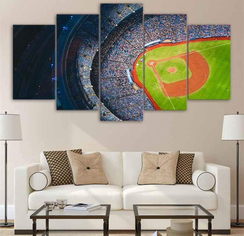 5Piece Canvas Art Painting For Living Room Canvas Print Basketball Sport Painting