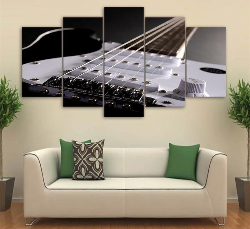 5 Piece Canvas Wall Art Printed Music Canvas Paintings Home Decor