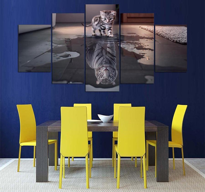 5 Piece Canvas ArtPrinted Decoration Posters And Prints