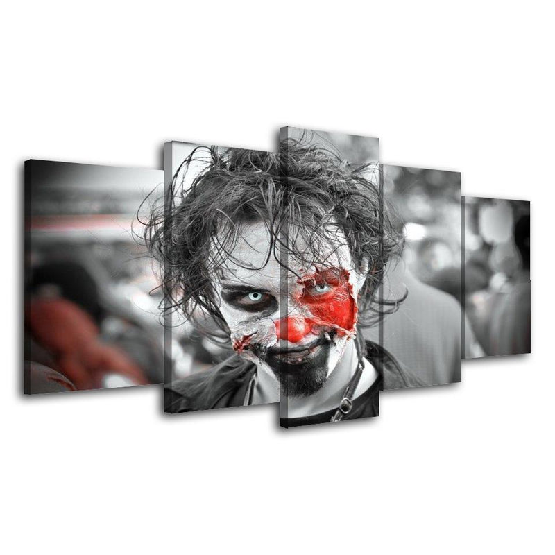 5Piece Game Black And White Wall Art Zombie Poster Prints Painting