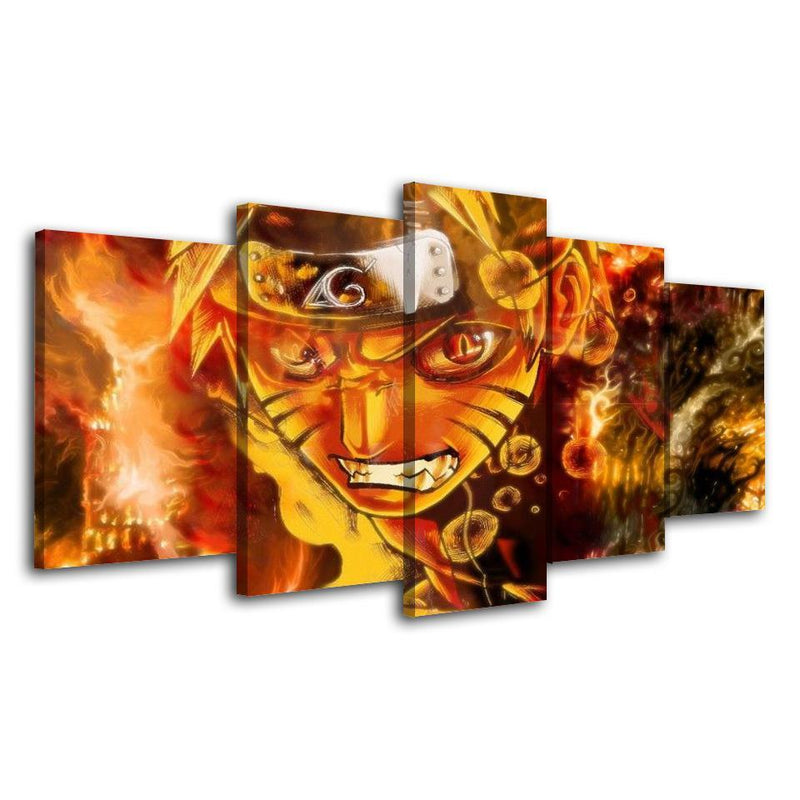 5 Planes Naruto Pictures Poster And Prints Anime Wall Painting