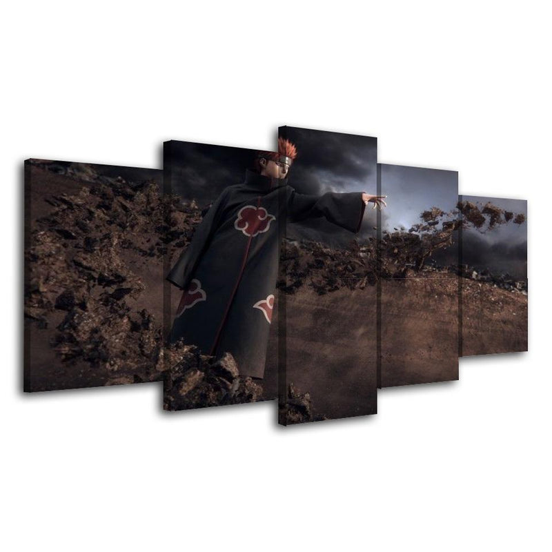 5 Planes Naruto Canvas Picture And Prints Anime Wall Poster Painting