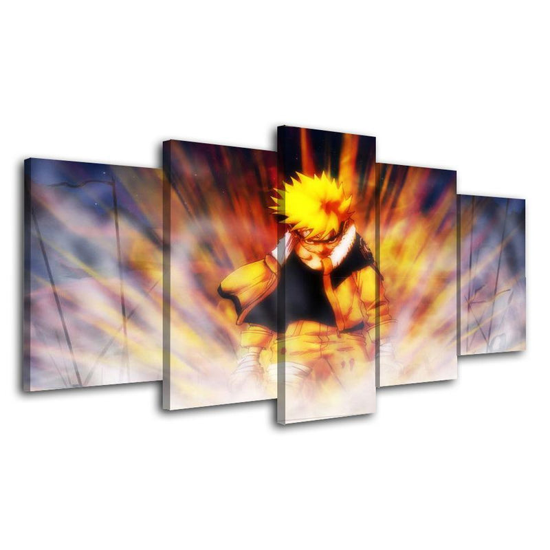 5 Planes Naruto Prints Painting Anime Wall Poster Cartoon Canvas Picture