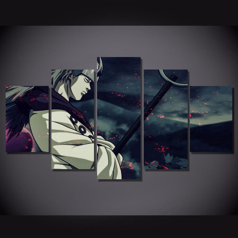 5 Piece Wall Art Naruto Painting Home Decor Anime Poster Print Canvas Picture
