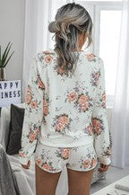 Flower Loungewear Set