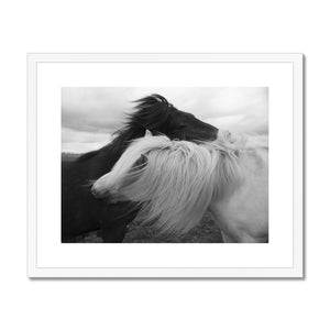 Lovers – Framed & Mounted Print