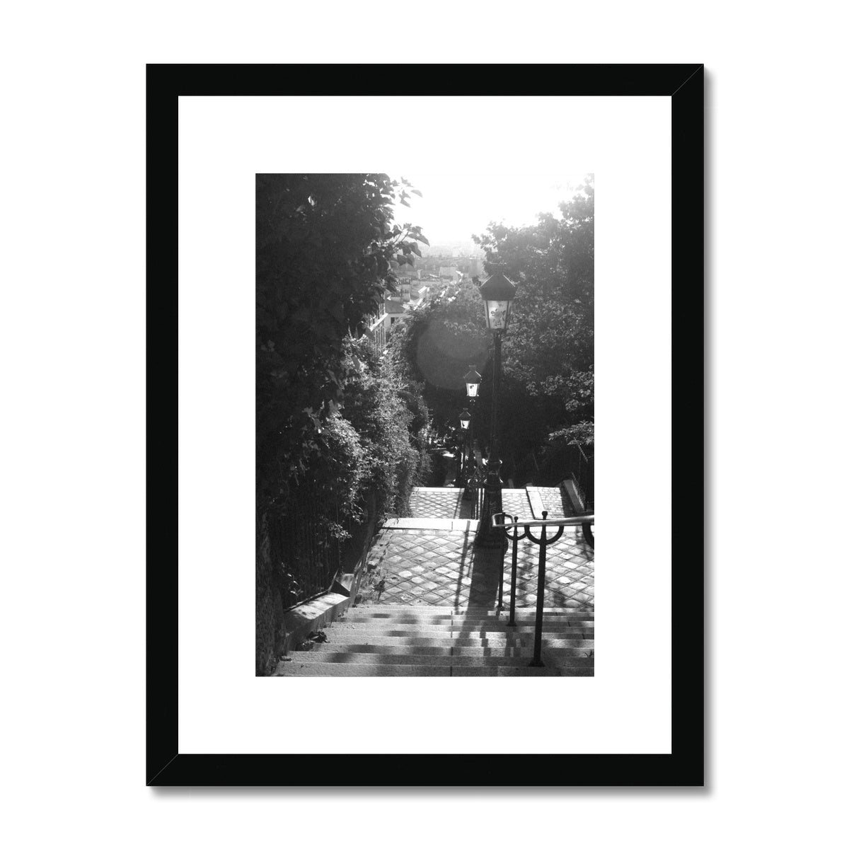 Streets - Framed & Mounted Print
