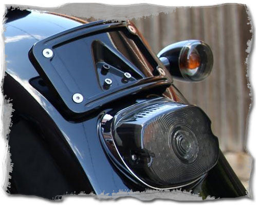 Led Tail Light Low Profile Smoked For Harley Davidson