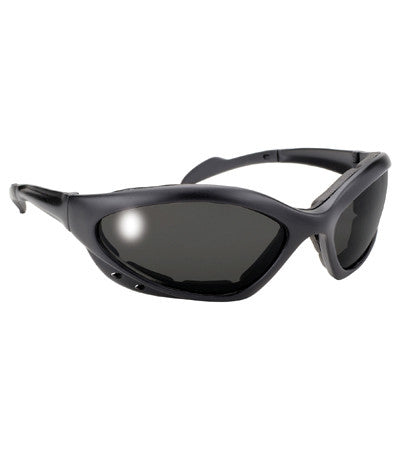 b2b6d0995a Navigator Padded Riding Glasses - Harley Biker Polarized Motorcycle ...