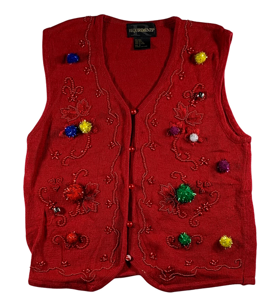 Feelin' Festive Ugly Christmas Vest