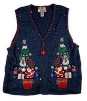 Holiday Feels Ugly Christmas Vest