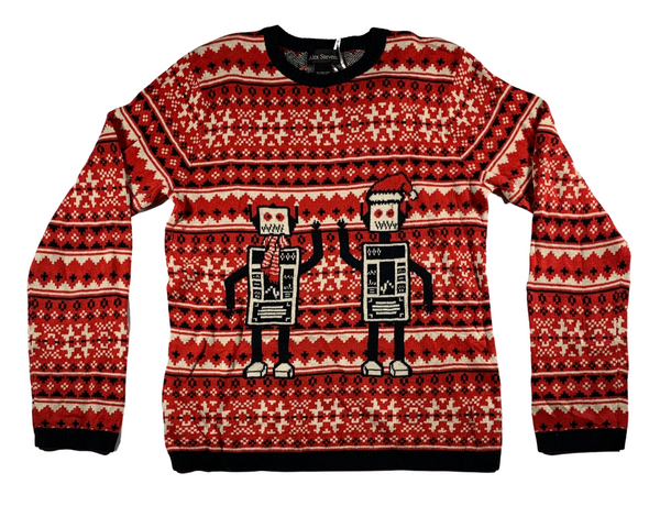 Mr. Roboto Ugly Christmas Sweater
