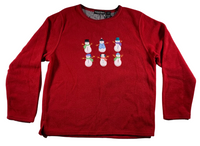 Snowman City Ugly Christmas Sweater