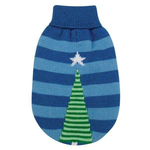 Blue Christmas Star Dog Ugly Pet Sweater