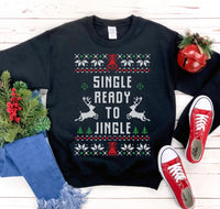 Single Ready To Jingle Christmas Sweatshirt