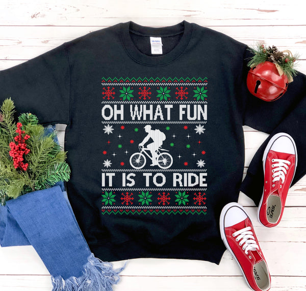 Oh What Fun Christmas Sweatshirt