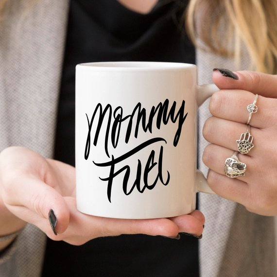 Ceramic Coffee Mug - Mommy Fuel