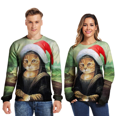 Unisex Cata Lisa Christmas Sweater